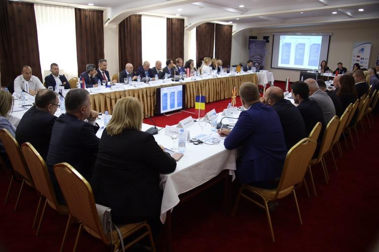 """Состанок на Работната група СЕЛЕК за борба против трговија со луѓе """"Мираж"""" во Охрид"""